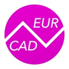 Canadian Dollars To Euros – Currency Converter (CAD to EUR) icon