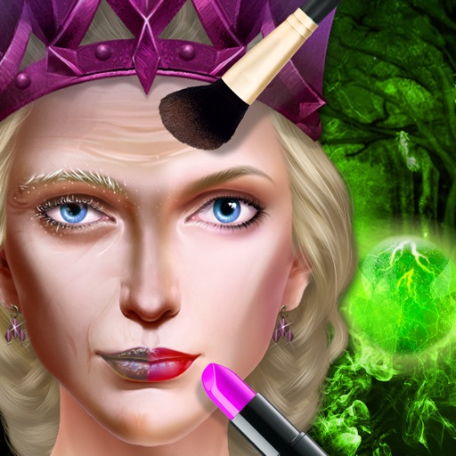 Glam Doll Salon - Evil Wicked Queen iOS App