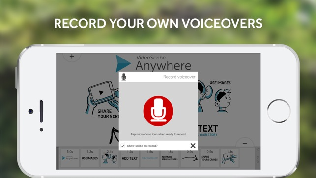 VideoScribe Anywhere for iPhone