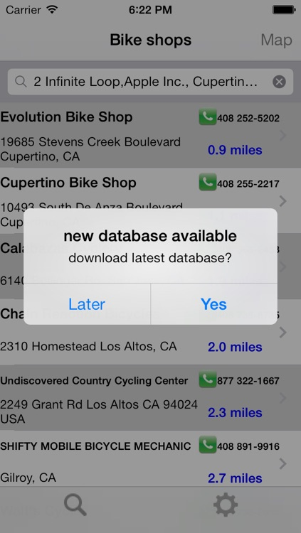 Bike Shops North America screenshot-3