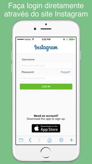 Web seguro para Instagram - proteger seu Instagram com