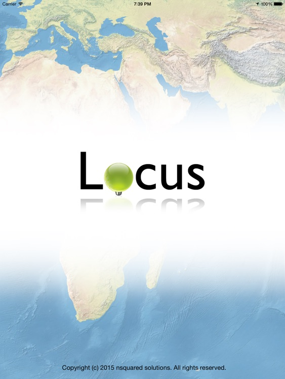 Locus for iPad