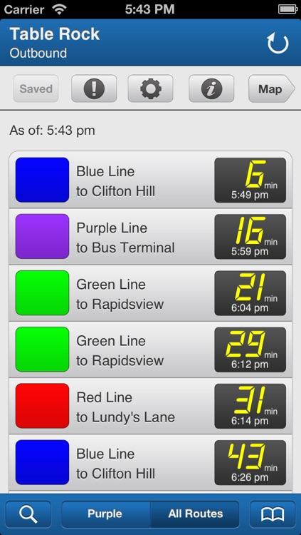 Transit Stop: WEGO Niagara Falls Bus Tracker