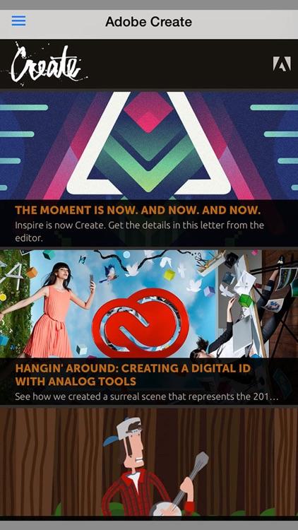 Adobe Create Magazine