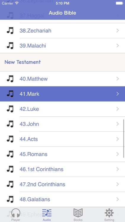 NASB Bible (Audio & Book)