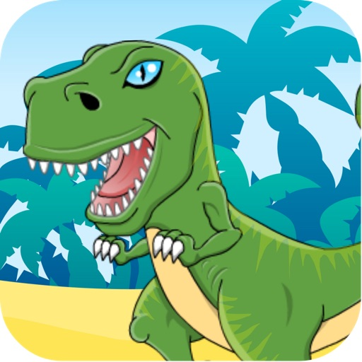 My Dinosaur from KibaGames ™ - The free & fun dino painting doodle educational game app for Kids