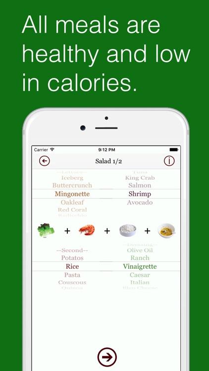Skinny Dinner - Healthy Recipe Assistant screenshot-3