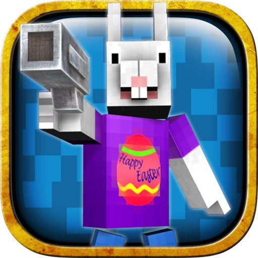 Easter Bunny Egg Defense Games icon