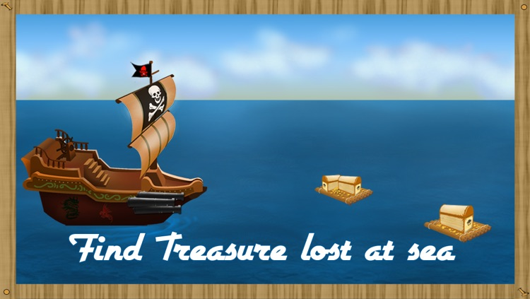 Tiny Pirate Ships : Treasures Hunter & Seeker - Free Edition screenshot-3