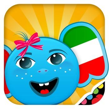 Italiaans voor Kinderen: Leren en spelen - Een leerzaam spel om kinderen kennis te laten maken met de Italiaanse taal, Geschikt voor baby's, kleuters en kleuter