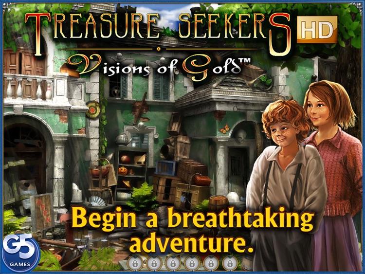 Treasure Seekers - Visions of Gold HD screenshot-0