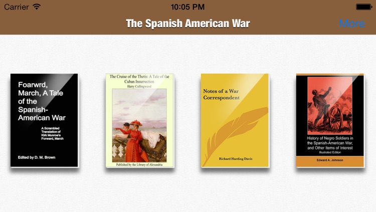 The Spanish American War Collection