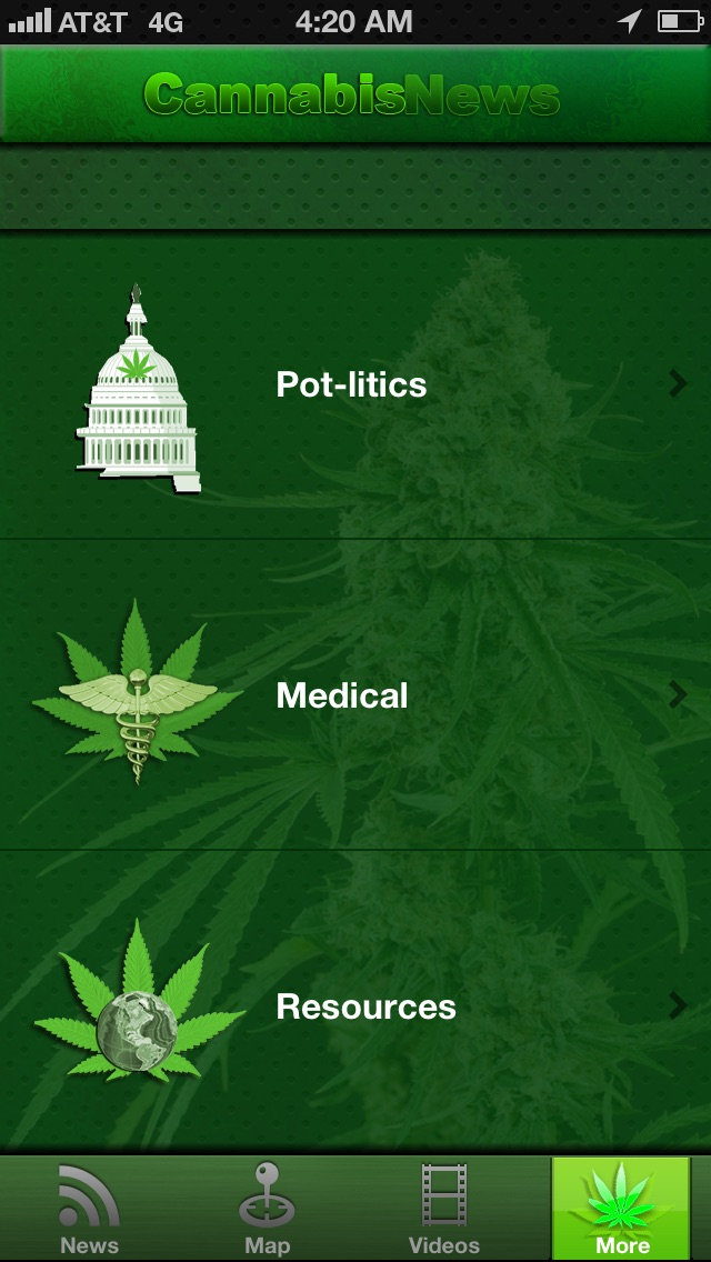 Cannabis News Pro screenshot1