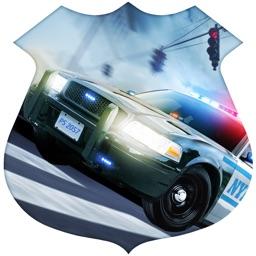 Police Car Action Driver 3D - Asphalt Burning Street Driving with Nitro