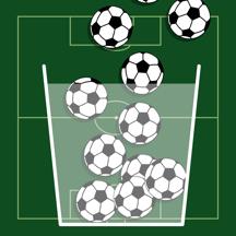 100 Soccer Balls (100 Footballs)