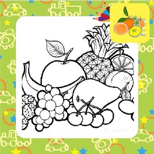 gambar mewarnai buah melon semburat warna