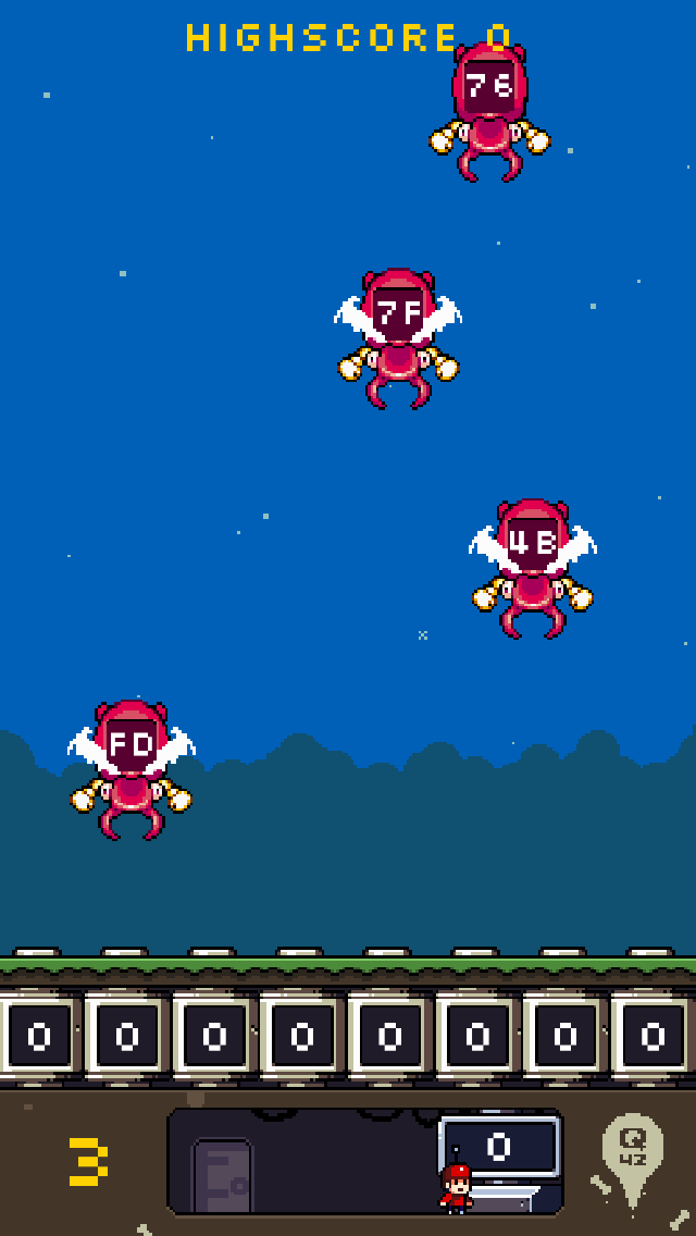 Flippy Bit And The Attack Of The Hexadecimals From Base 16 screenshot three