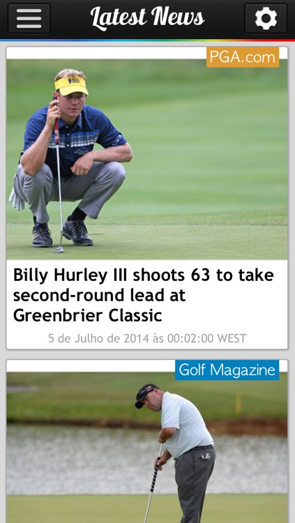 Golf News Pro screenshot-2