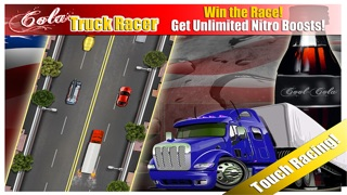 Cola Truck Extreme Cool Racer : Soft drink Fast delivery racing Screenshot on iOS
