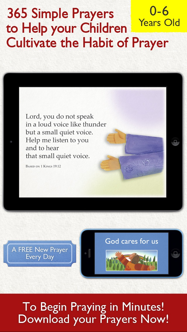 365 Prayers for Kids – A Daily Illustrated Prayer for your