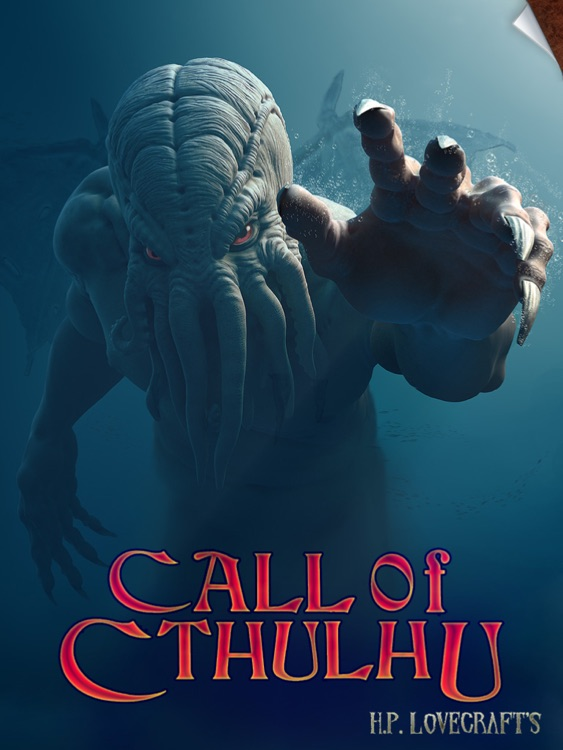 Totalbook - Call of Cthulhu : The Interactive and Illustrated Howard Phillips Lovecraft story