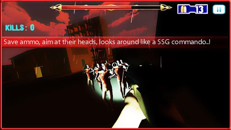 Sniper Assassin - Zombie Hunting Game screenshot-4