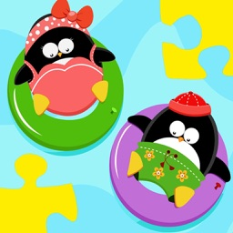 Baby Puzzle: Penguins