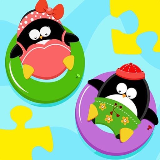Baby Puzzle: Penguins