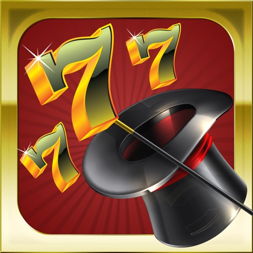 Acme Slots Machine 777 - Magic and Magicians Edition with Prize Wheel, Black Jack & Roulette Games
