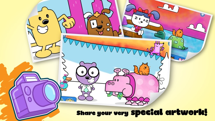 Wubbzy's Animal Coloring Book screenshot-4