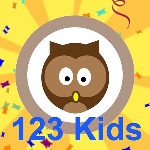 123 kids HD icon