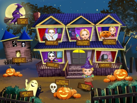 Sweet Baby Girl Halloween Fun - Spooky Makeover & Dress Up Party - No Ads на iPad