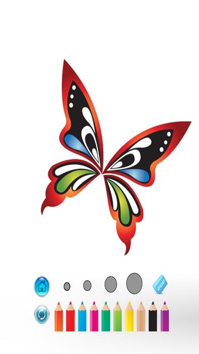 大人のための塗り絵ライブ蝶は私の翼カラーセラピーをペイント