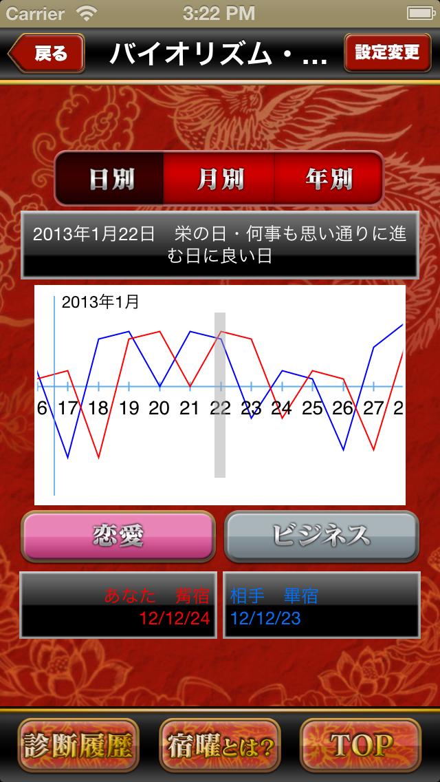 運命の人 宿曜占い - 729通りの相性診断 ScreenShot3
