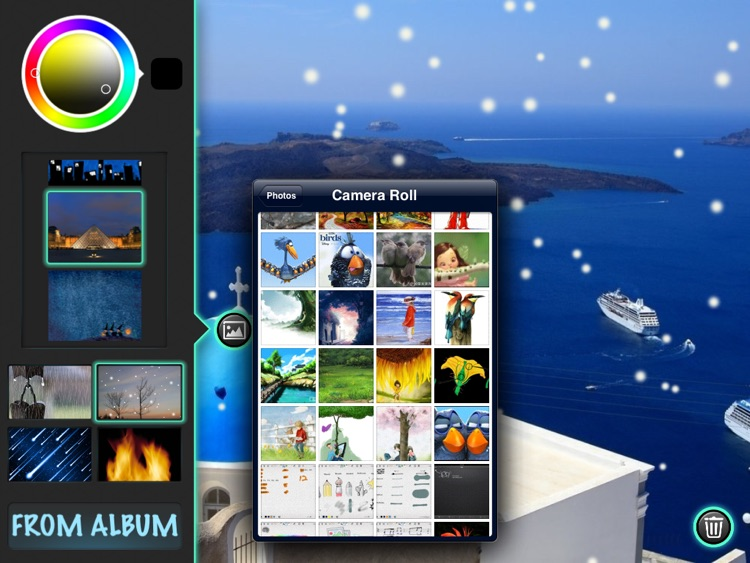 Glow Doodle !! - Paint, Draw and Sketch with Sparkle Glowing Particles screenshot-4