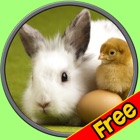 rabbits of my kids - free icon