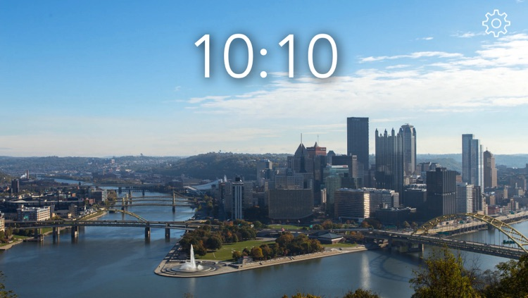 The World View Clock - Pittsburgh Edition screenshot-0