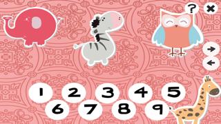 123計數嬰兒及兒童遊戲是免費的:有趣的玩與學數學的應用軟件!我的寶寶第一個號碼 - S&小動物屏幕截圖3