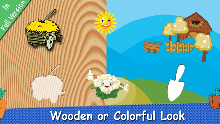 Farm Puzzle for Babies Free: Move Cartoon Images and Listen Sounds of Animals or Vehicles with Best Jigsaw Game and Top Fun for Kids, Toddlers and Preschool screenshot-3