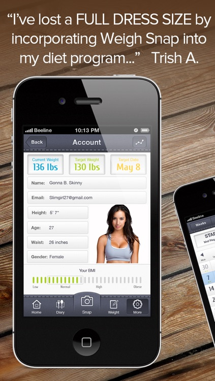 WeightSnap Lite - Personal Fitness, Health And Weight Tracking Diary screenshot-3
