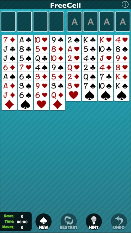 FreeCell [Pokami] screenshot-1