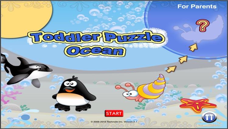 Toddler Puzzle Ocean