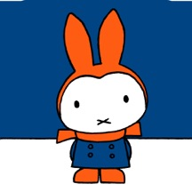 Miffy in snow
