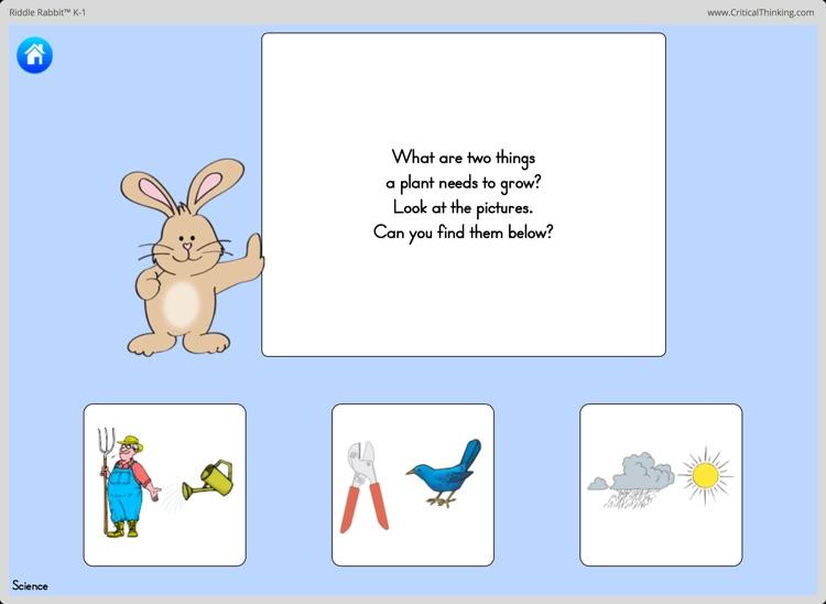 Riddle Rabbit™ K-1 screenshot-3