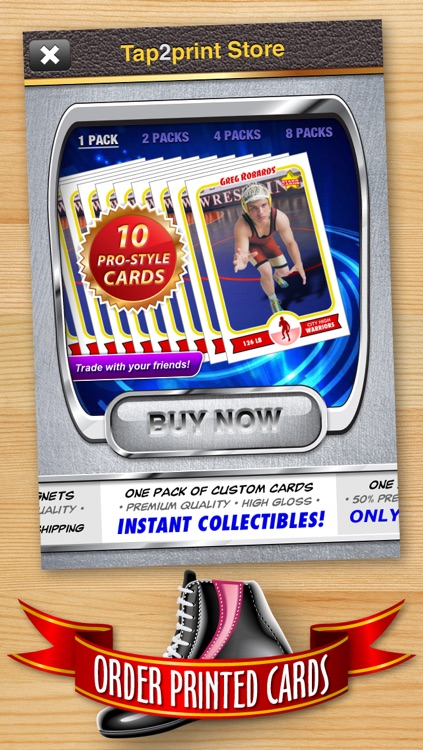 Wrestling Card Maker - Make Your Own Custom Wrestling Cards with Starr Cards screenshot-4