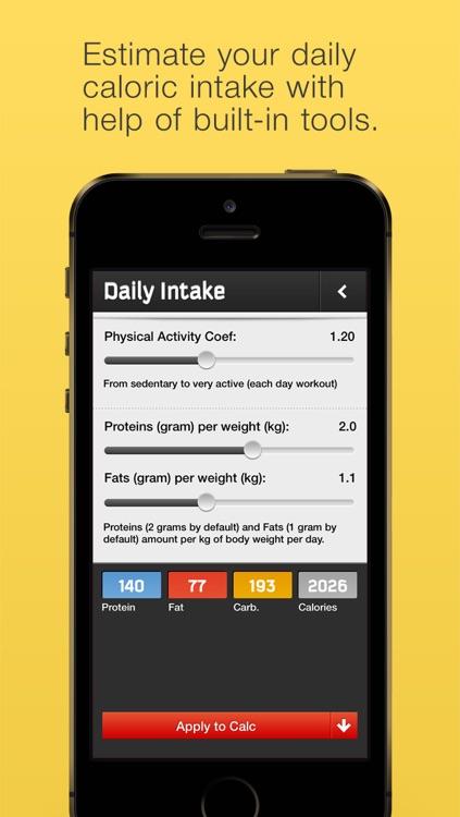 Dietograph: Pro Diet Planner screenshot-3