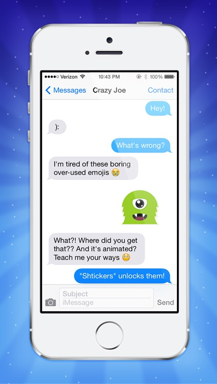 Shtickers - Animated stickers for iMessages screenshot-3