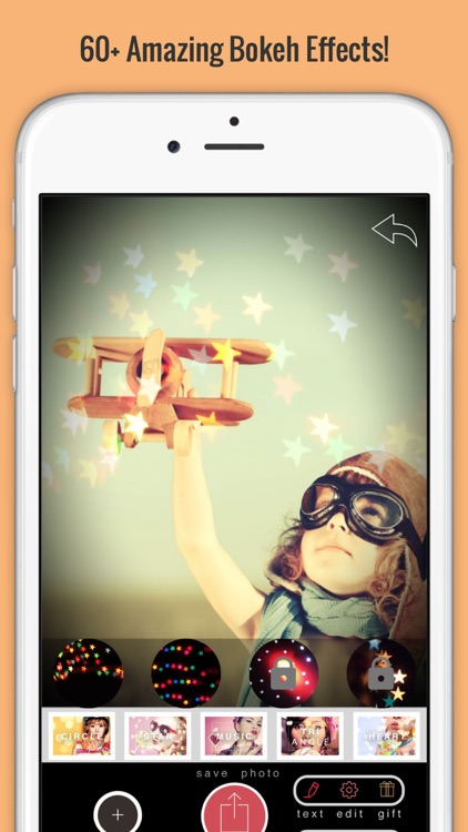 Lumiere Camera & Photo Editor-Real Time Bokeh, Filters, Analog Film, Light Leak and Vintage Effects