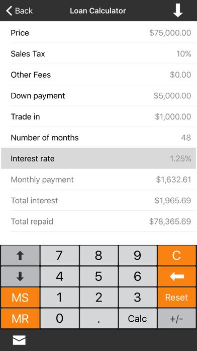 Financial Calculator +-1