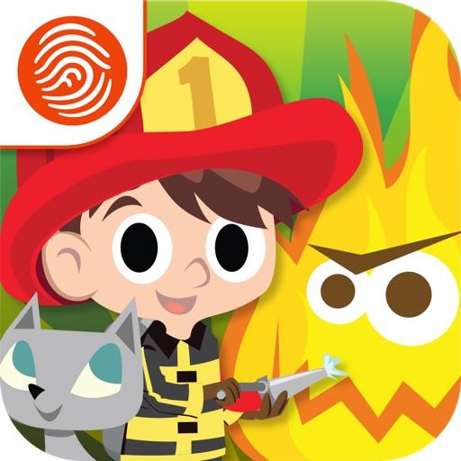 Big Kid Life: Firefighter Premium - Preschool Learn & Play - A Fingerprint Network App